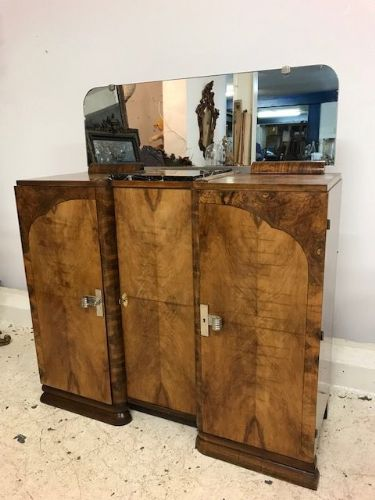 Art Deco French Sideboard - Great Piece - gh65